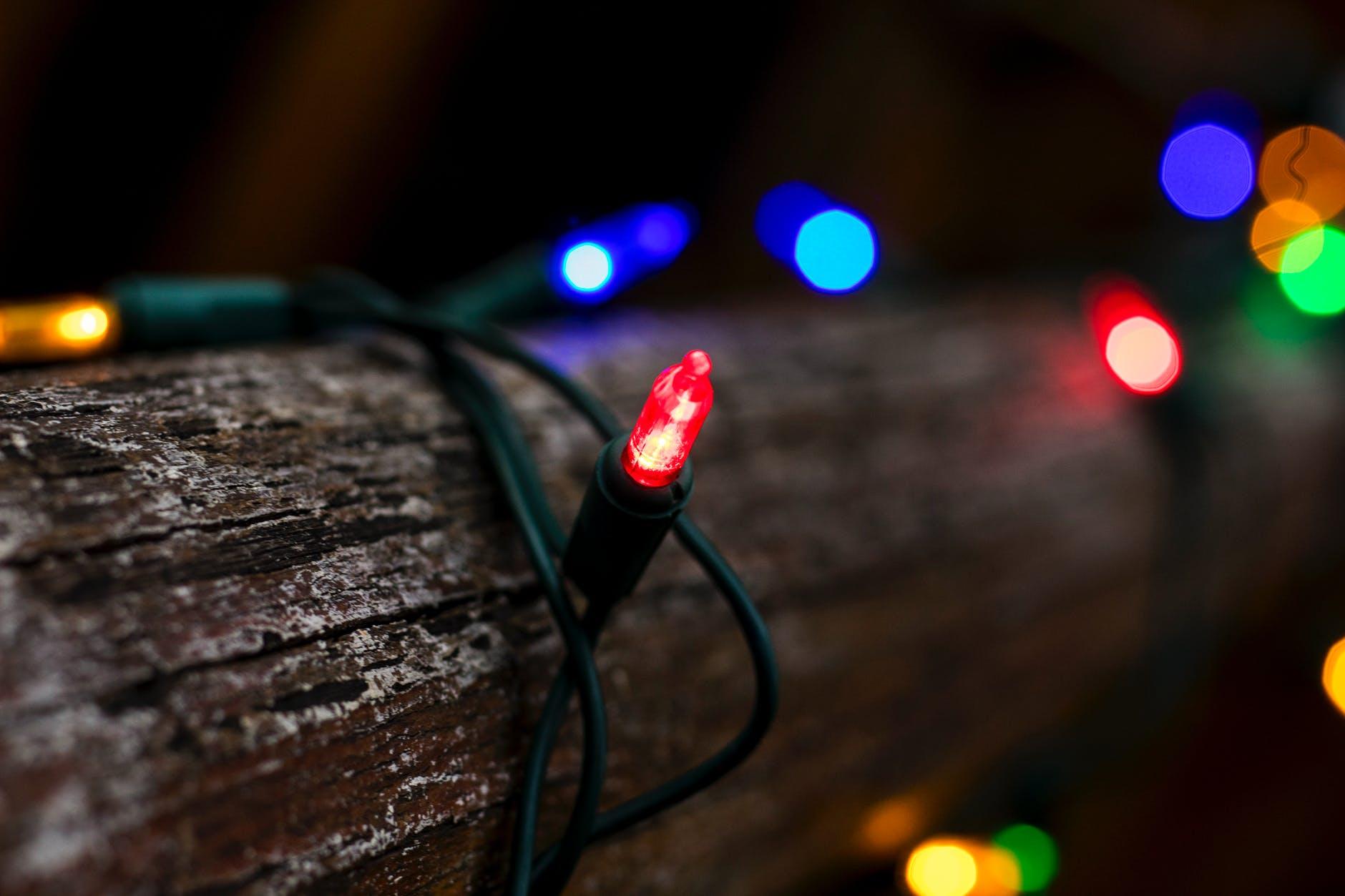 farebné svetlá