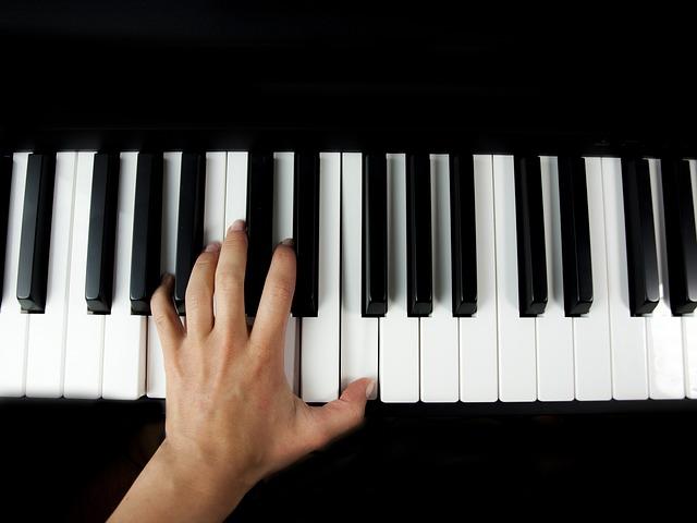 klávesnice piana