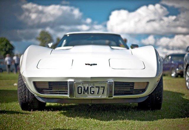 corvette závodní auto
