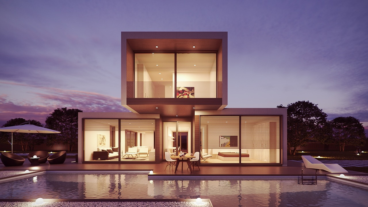 luxus dom